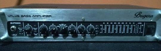 Cabeçote Usado Para Contra Baixo Bugera Bvp5500 110v 550w