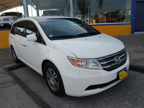 2011 Honda Odyssey Exl 6 Cilindros 3.5 Lts. Color Blanco