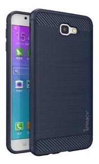Funda Ipaky Samsung Galaxy J7 Carbono + Cristal Templado