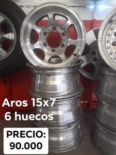 Aros 15x7 6 Huecos Pick Up O Toyota Tacoma