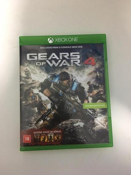 Jogo Xbox One Gears Of War 4 - Usado - Mídia Física