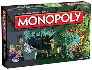 Monopoly Rick - Morty Board Game