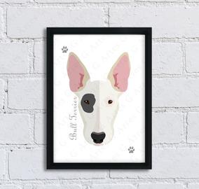 Quadro Cachorro Bull Terrier Cód: 237