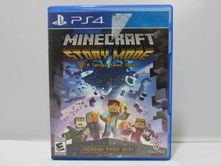 Minecraft: Story Mode - Ps4 ¡fisico-usado!