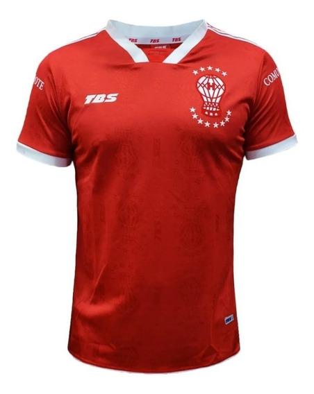Camiseta De Huracán Modelo Suplente Roja Tbs 2017