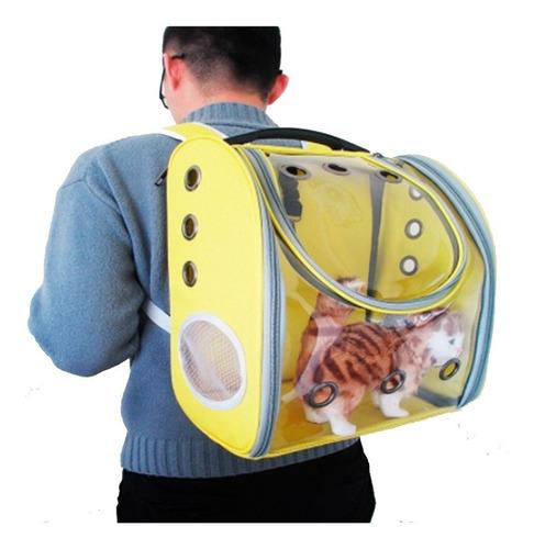 Mochila Transportadora Para Gatos Y Perros