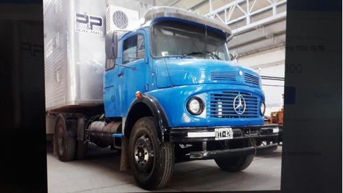 Camion Mercedes Benz 1114 Modelo 1978 Azul