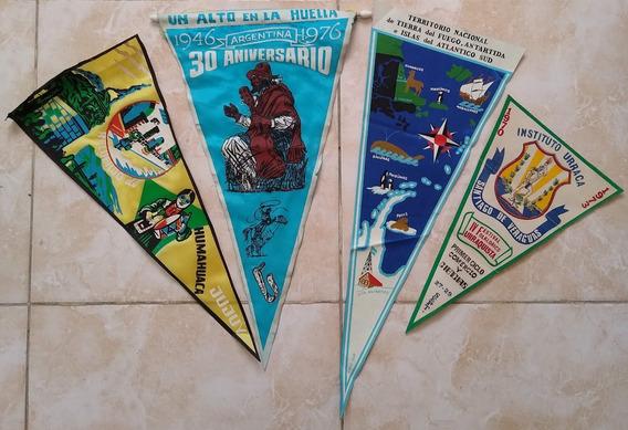 Lote De 15 Banderines Antiguos