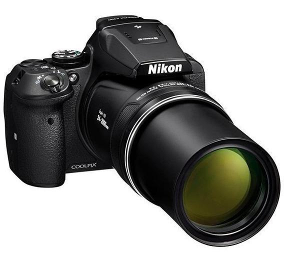 Nikon Coolpix P900 16mp Tela De 3.0 Com Wi-fi/nfc