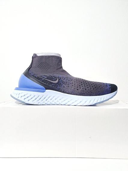 Tênis Nike Rise React Flyknit Masculino Cinza Original N. 39 (7.5 Usa)