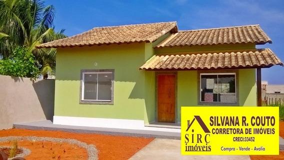 Casa 2 Qts, 480 M² Terreno- Itaipuaçu - R$ 250 Mil - 143