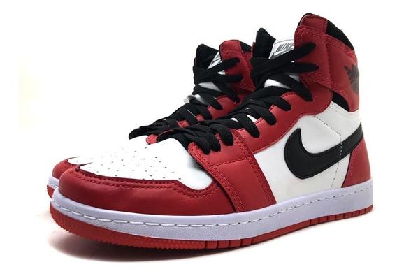 Tênis Masculino Air Jordan Chicago 1 Barato Promoção 20% Off