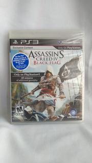 Assassins Creed Iv Black Flag - Nuevo Y Sellado - Ps3