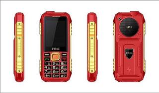 Celular Uso Rudo Boombox B-109 Rojo