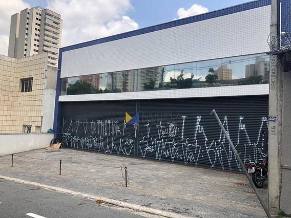 Salão Para Alugar, 272 M² Por R$ 8.000/mês - Centro - Guarulhos/sp - Sl0005