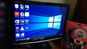 Computador E Monitor C/ Jogos