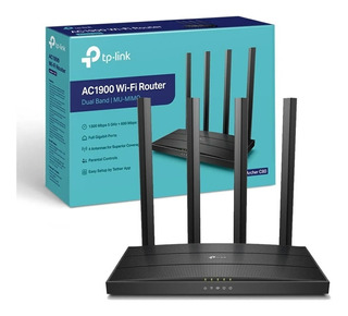Router Tp Link Archer C80 Ac1900 Wifi Dual Band 4ant Mimo X3