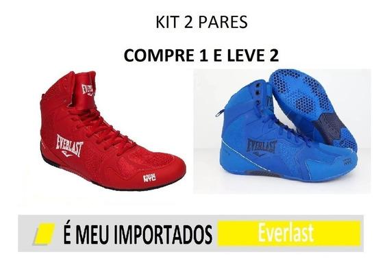 Kit 2 Pares Tênis Bota Ultimate Treino Promoção Oferta