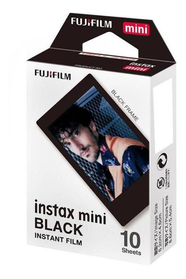 Filme Fujifilm Instax Mini Black 10 Unidades