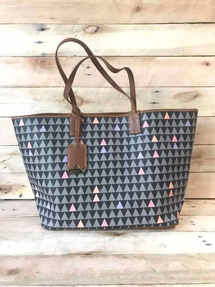 Bolsa Tote Nina Triangle Black Schutz Original