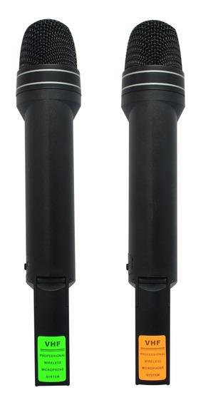 Micrófono Inalambrico Profesional Doble American Twm-2192