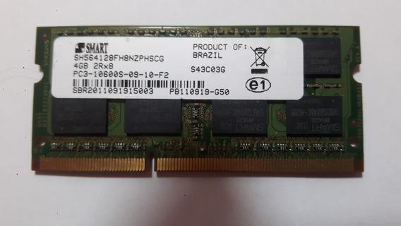 Módulo Memória Ddr3 4gb Pc10600 2rx8 Smart