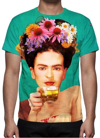 Camiseta Frida Kahlo - Estampa Total