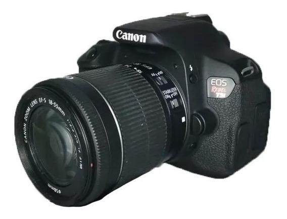Câmera Canon T5i Seminova Perfeita + Lente 18-55mm