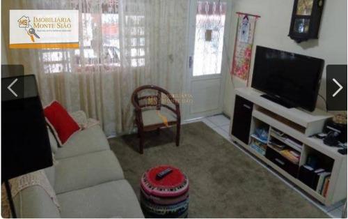 Imagem 1 de 11 de Casa Com 2 Dormitórios À Venda, 107 M² Por R$ 390.000,00 - Jardim Adriana - Guarulhos/sp - Ca0128