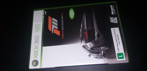 Forza Motorsports 3 Para Xbox 360