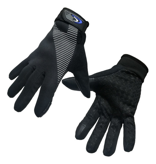 Guantes Neoprene Dedo Tactil Termicos Impermeables Sti Full
