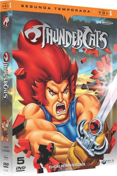Thundercats - Segunda Temporada - Vol. 1 (5 Discos)