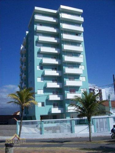 Imagem 1 de 17 de Apartamento Com 2 Dormitórios À Venda, 54 M² Por R$ 265.000,00 - Caiçara - Praia Grande/sp - Ap2767