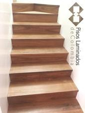 Pisos En Madera Maciza, Bambu , Escaleras Metalicas Decks Pv
