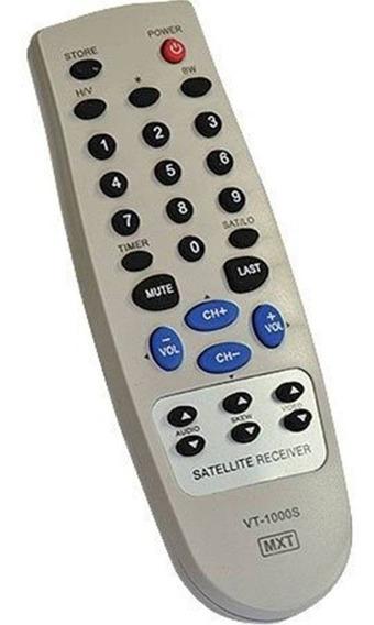 Controle Remoto Para Receptor Visiontec Vt1000s C0957