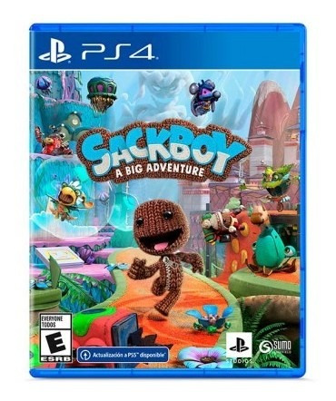 Juego Ps4 Sackboy: A Big Adventure Juego Ps4 Sackboy Tk462