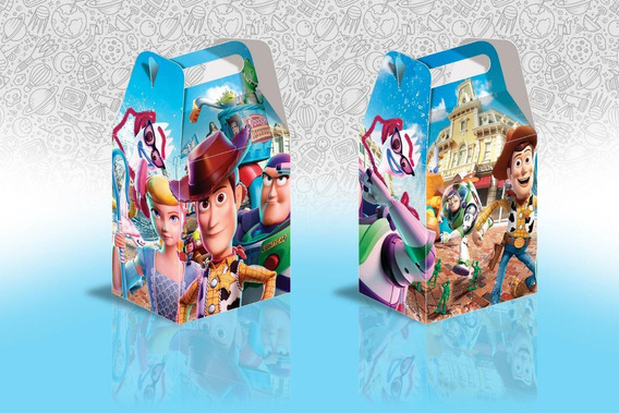 35. Cajas Para Dulces . Toy Story Grande