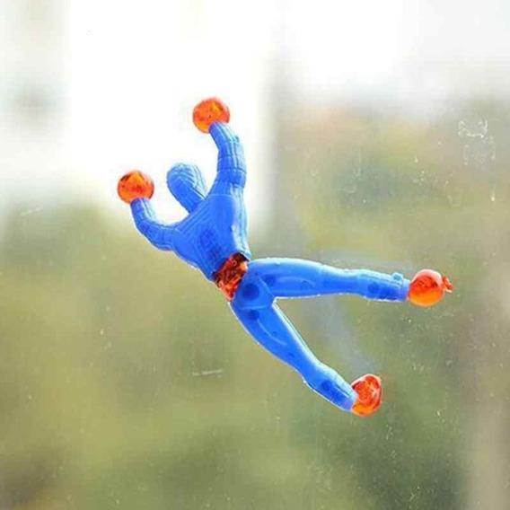 Spiderman 6 Hombre Araña Pegajoso Trepa Todo Terreno Nuevo