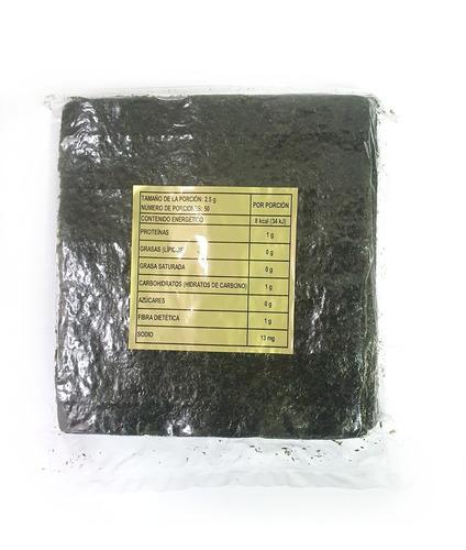 Alga Nori 50 U - Origen China