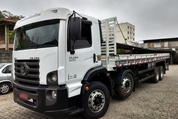 Vw Constelletion 24 280 6x2 Bi Truck Ano 2015