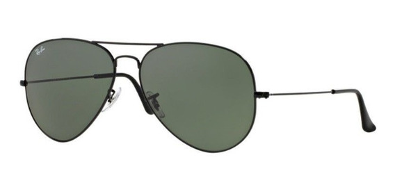 Oculos Sol Ray Ban Aviador Rb3026l L2821 62mm Verde G15