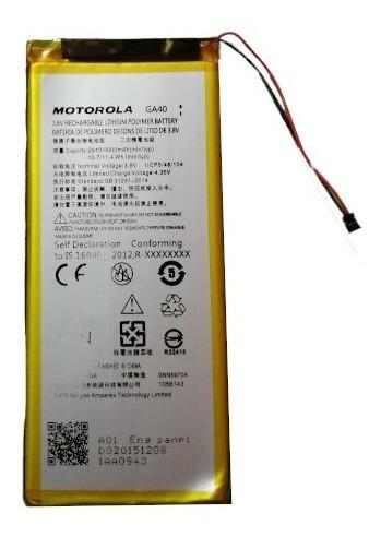 Bateria Motorola G4 Plus Ga40 3000 Mah 100% Nueva