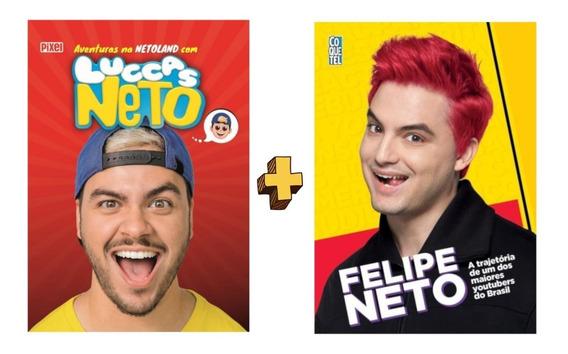 Kit Livros Irmãos Lucas Neto E Felipe Neto
