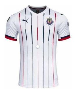 Camisa Nova Chivas Branco 2020 - Envio Imediato
