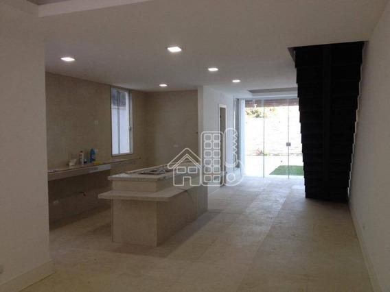 Casa Com 3 Dormitórios À Venda, 125 M² Por R$ 580.000 - Maravista - Niterói/rj - Ca1076