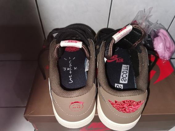 Zapatilla Nike Travis Scott X Air Jordan 1 Low