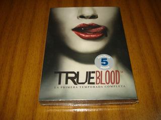 Dvd Serie True Blood / 1ra Temporada (nuevo Sellado) 5 Dvd