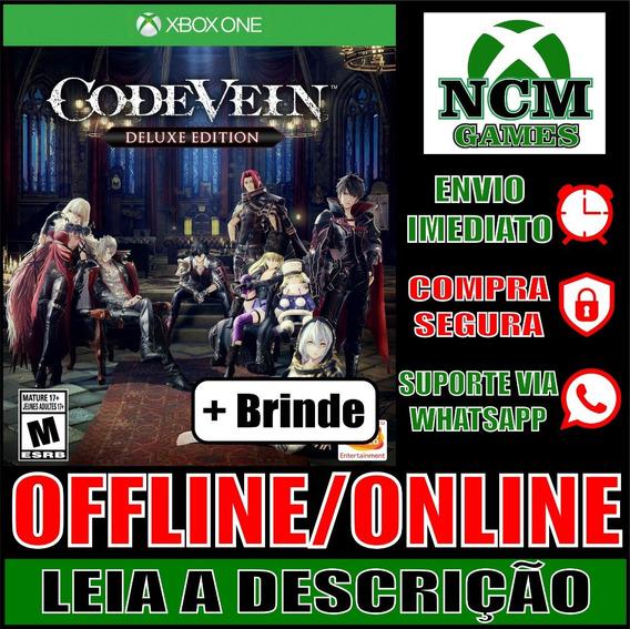 Code Vein - Edição Deluxe Xbox One Offline/ Online + Brinde