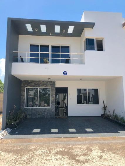 Vendo Hermosa Casa En Condominio Con Seguridad Y Alberca