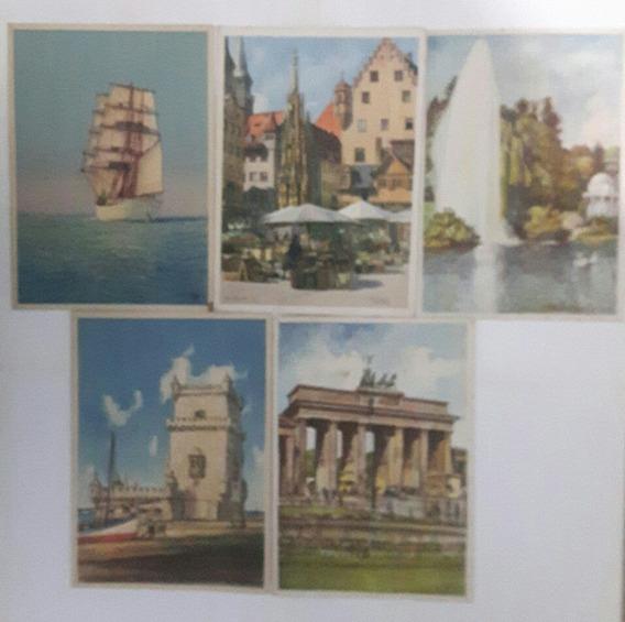 Antiguas Cartas Menus Vapor Cap Norte Año 1935. 19cm X 14cm
